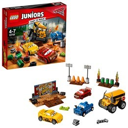LEGO Juniors 10744, Thunder Hollow Crazy 8-tävling