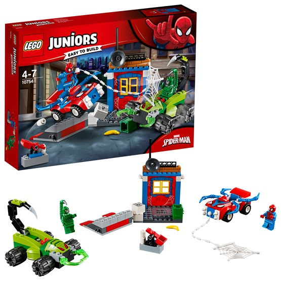 LEGO Juniors 10754, Spider-Man vs. Scorpion – Gatustrid
