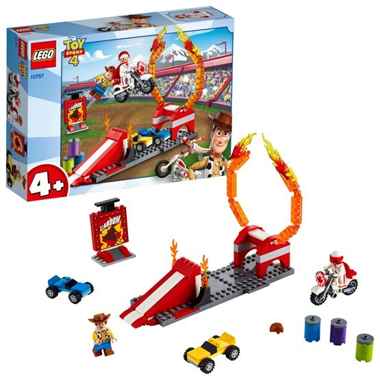LEGO Toy Story 10767, Duke Cabooms stuntshow