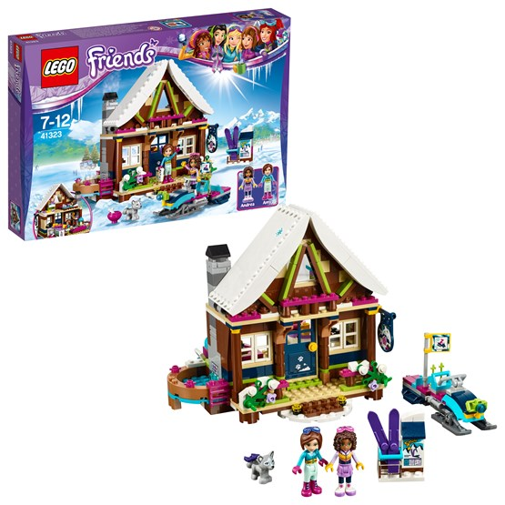 LEGO Friends 41323, Vinterresort – stuga
