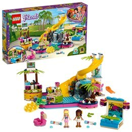 LEGO Friends 41374, Andreas poolparty