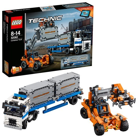 LEGO Technic 42062, Containertransport