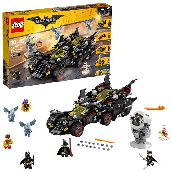 LEGO Batman Movie 70917, Den ultimata Batmobilen