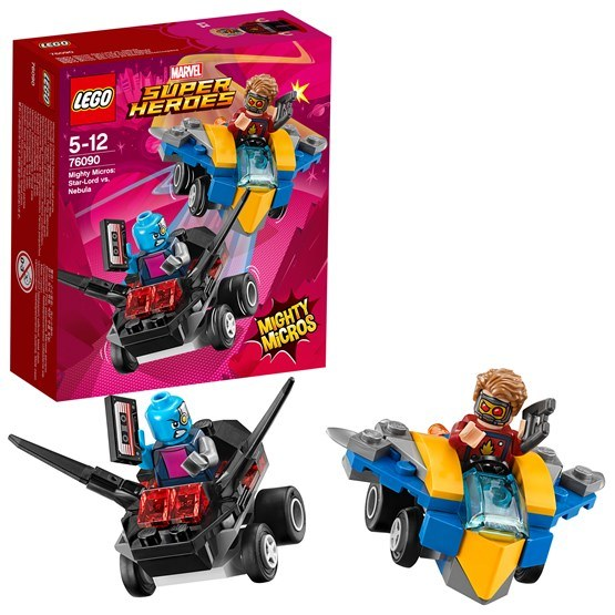 LEGO Super Heroes 76090, Mighty Micros: Star-Lord vs. Nebula