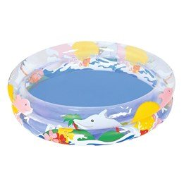 Bestway, Pool sea life 91x20 cm 74 liter