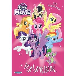 My Little Pony, the Movie målarbok med klistermärken