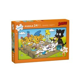 Bamse, Golvpussel - Bamse Party 24-bitar XL