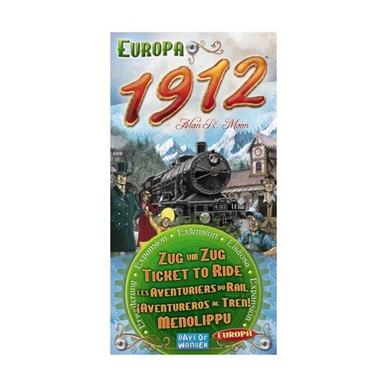 Ticket to Ride: Europa 1912 (Exp.)