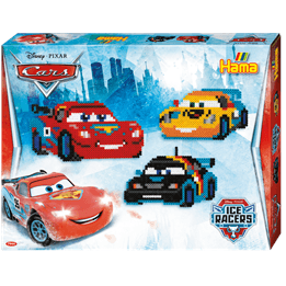 Hama, Midi Gift box 4000 st - Disney Cars