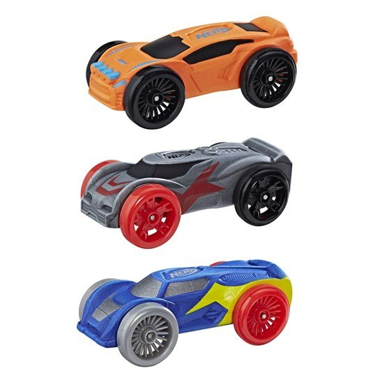 Nerf nitro foam car 3 pack hem for Mobilia 3 butik