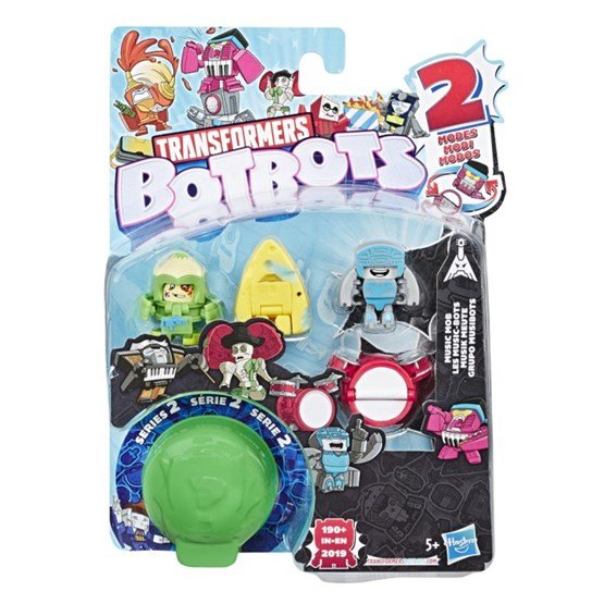 Transformers - Botbots Music Mob 5-pack