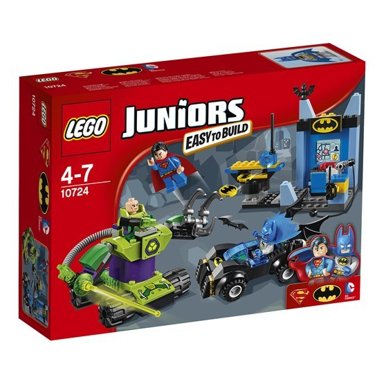 LEGO Juniors 10724, Batman & Stålmannen mot Lex Luthor