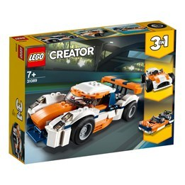 LEGO Creator 31089, Orange racerbil
