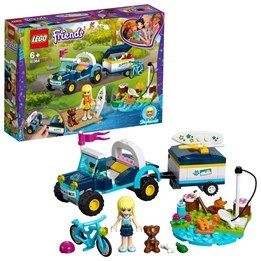LEGO Friends 41364, Stephanies buggy med släp