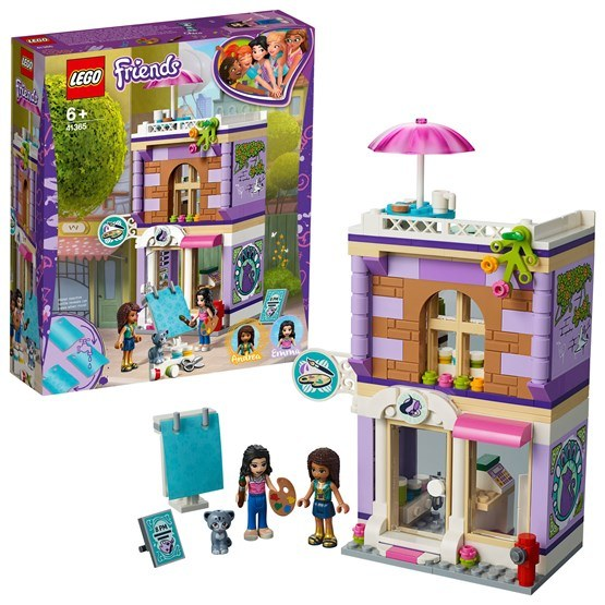 LEGO Friends 41365, Emmas ateljé