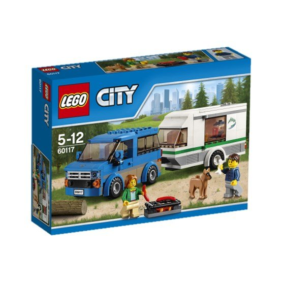LEGO City Great Vehicles 60117, Skåpbil och husvagn