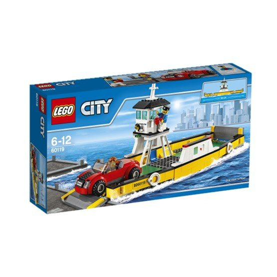 LEGO City Great Vehicles 60119, Färja