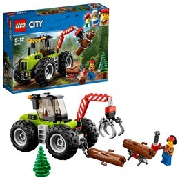 LEGO City Great Vehicles 60181, Skogstraktor