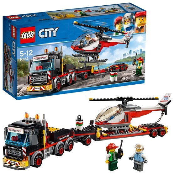 LEGO City Great Vehicles 60183, Tung transport