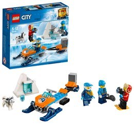 LEGO City Arctic Expedition 60191, Arktiskt utforskningsteam