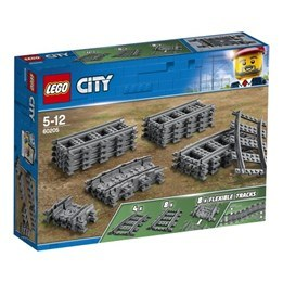 LEGO City Trains 60205, Spår