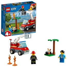 LEGO City Fire 60212, Grillbrand