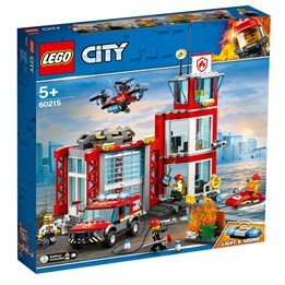 LEGO City Fire 60215, Brandstation