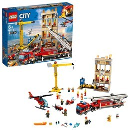 LEGO City Fire 60216, Brandkåren i centrum