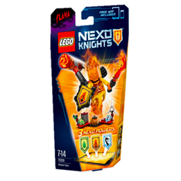 LEGO Nexo Knights 70339, Ultimate Flama