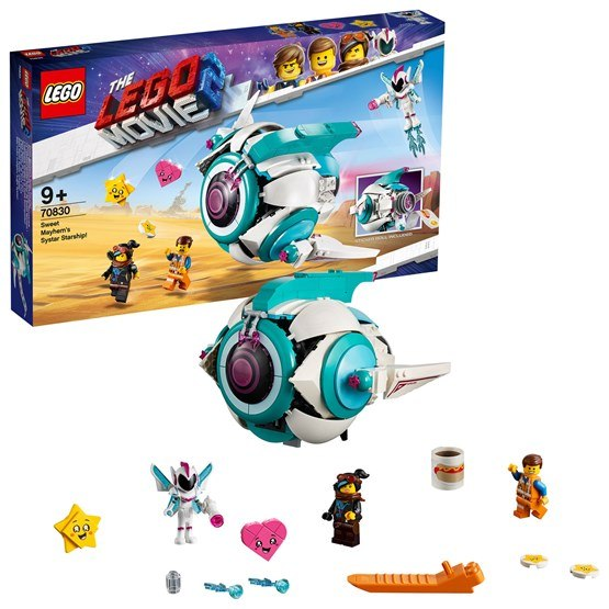 LEGO The Movie 70830, Milda Vildas Systar-skepp!