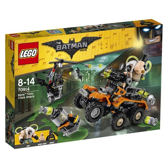 LEGO Batman Movie 70914, Bane Attack med giftbilen