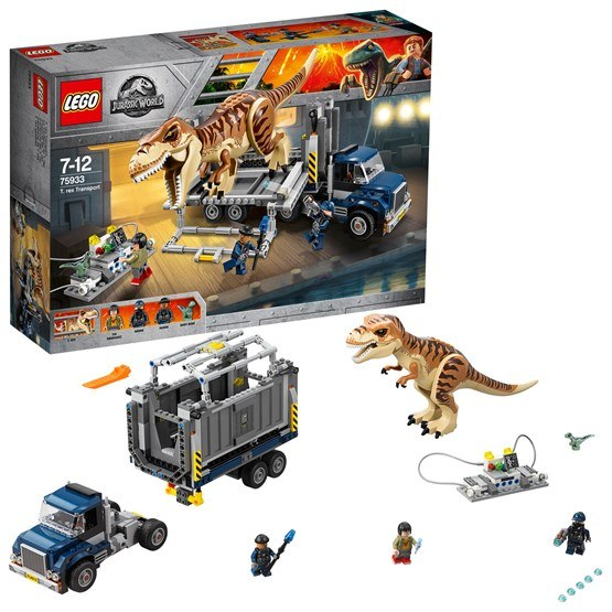 LEGO Jurassic World 75933, T. Rex Transport