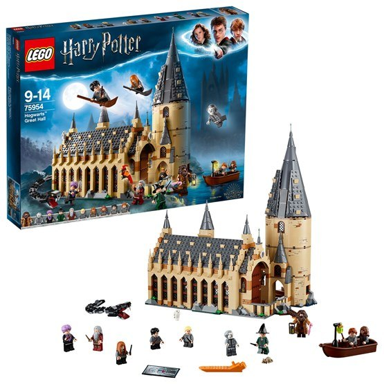 LEGO Harry Potter 75954, Stora salen på Hogwarts