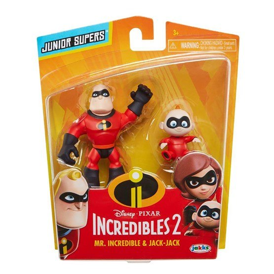 Incredibles 2, Mr Incredible & Jack 8 cm