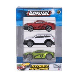 Metallbil 1:43 3-pack