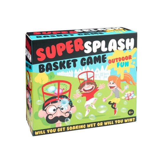 Super Splash Basket Game