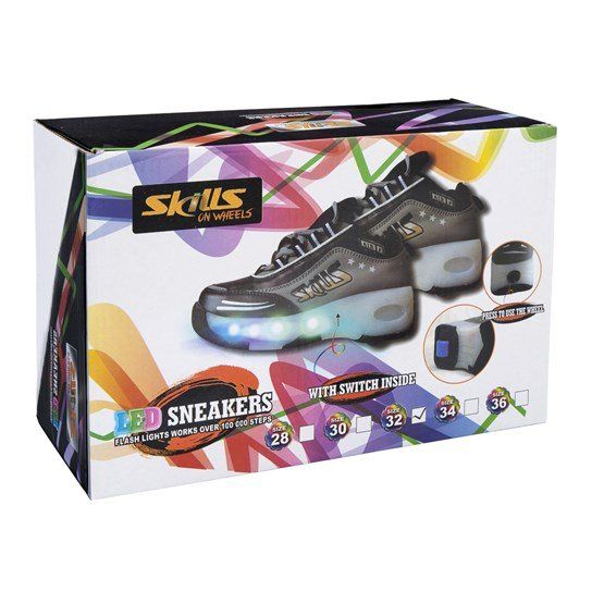 Skills on Wheels, LED Sneakers stl 32