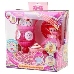 Cupcake Surprise, Ice cream vanity set rosa