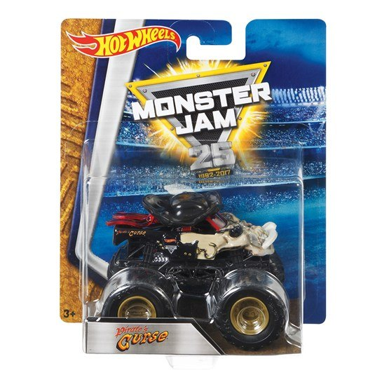 Hot Wheels, Monster Jam - Pirate´s Curse 1:64