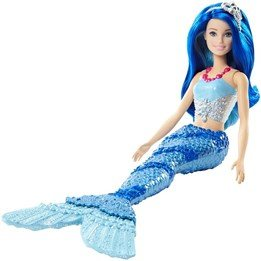 Barbie, Dreamtopia Mermaid - Mountain blue