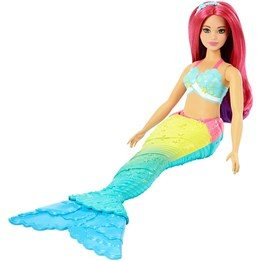 Barbie, Dreamtopia Mermaid - Rainbow Ombre Cove