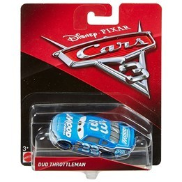 Disney Cars 3, Dud Throttleman