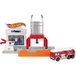 Hot Wheels, Fold out Playset - Blaze Blast
