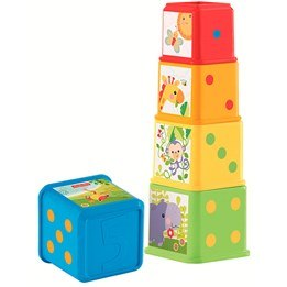 Fisher Price, Stack & Discover Blocks