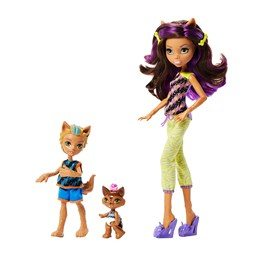 Monster High, Werwolf Family Dolls Multipack