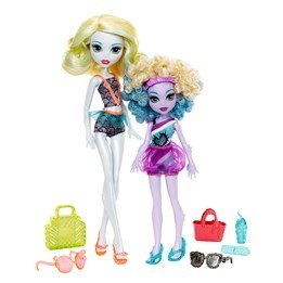 Monster High, Lagoona Blue Family Dolls 2-Pack