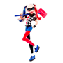 DC SuperHero Girls, Action Doll - Harley Quinn 30 cm