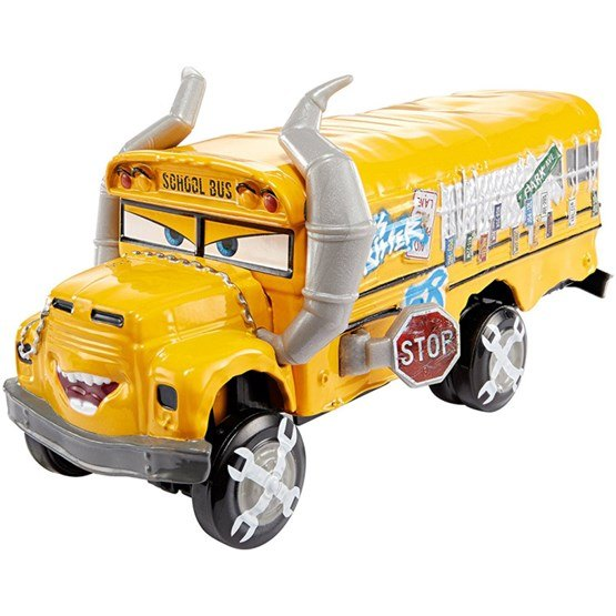 Disney Cars 3, Deluxe Die-Cast Big 1:55 - Miss Fritter