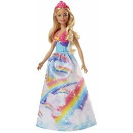 Barbie, Dreamstopia Princess - Rainbow Star Dress