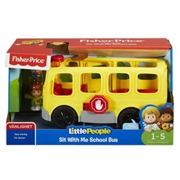 Fisher Price, Little People - Skolbuss